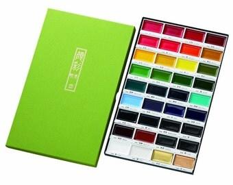 Kuretake picture letter face Sai unleashed 36 color set MC20/36 V