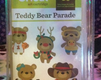 Teddy Bear Parade Cricut Cartridge