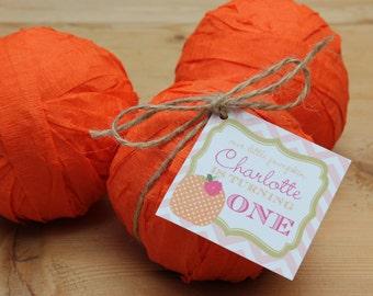Surprise Ball Party Favor - Little Pumpkin Party Favor - Set of 6
