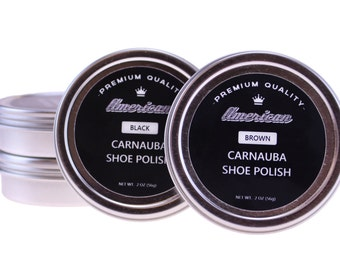 Carnauba Wax Shoe Polish