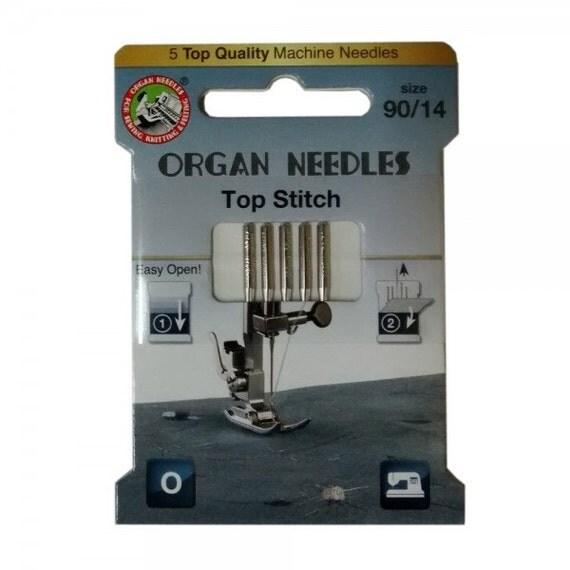 top stitch sewing machine needles