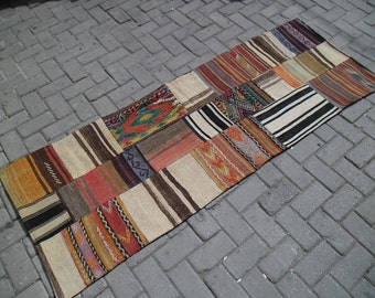 Kilim Patchwork Kilim Rugturkish Handmade Wool Kilim By