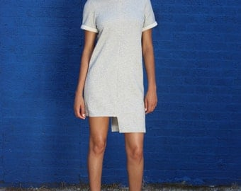 Asymmetrical Sweatshirt Dress Now 30% off