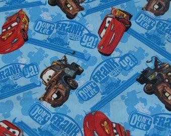 Disney Cars Don't Let Frank Catch Ya Fabric