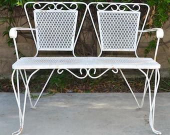 Garden Furniture Iron garden furniture | etsy