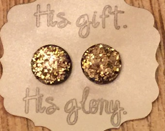Clay Stud Earrings