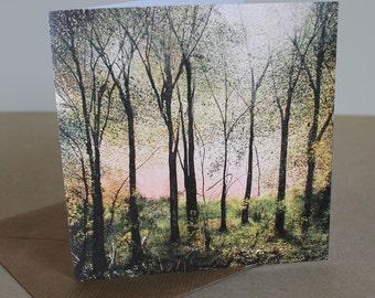 Majestic Wood - Fine Art card - Trees - Woodland