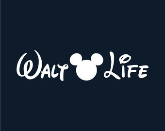 Walt Life decal