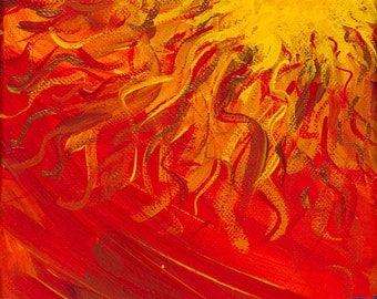 Sun Over Water Print (Giclee)
