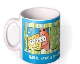 Personalised Sponge Bob Mug