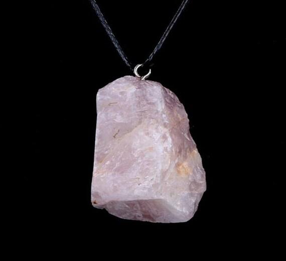 Raw Rose Quartz Gemstone Crystal Healing by ...