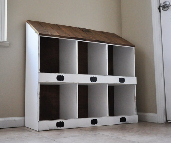 Mudroom Wall Storage Unit : Mud room storage cabinetbookcase wall bookshelves by