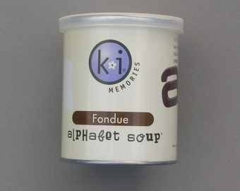 Fondue Alphabet Soup by KI Memories