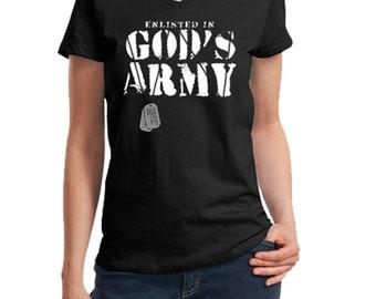 God's Army t-shirt (women's)