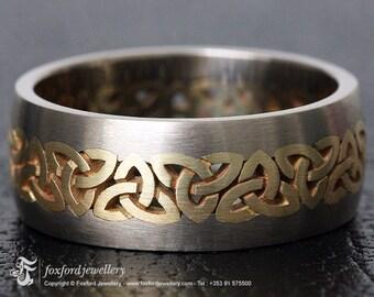 14k Trinity Knot Ring