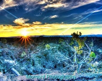Lava Sunset Print