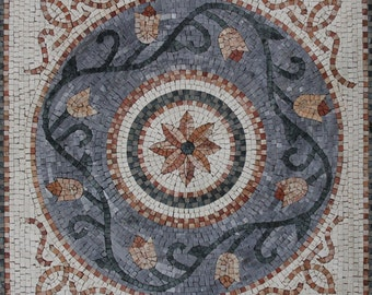 Geometrical Floral Art Wall Home Decor Design Marble Mosaic GEO80