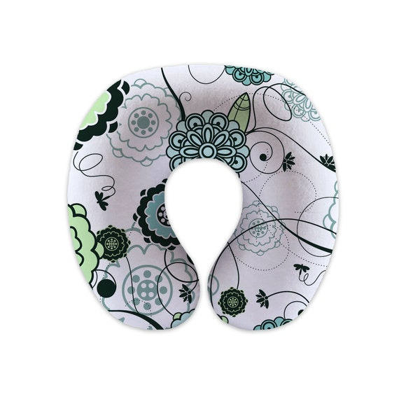 Cute Boppy Pillows : Cute green flower Boppy Pillow Cover by LillyHopes on Etsy