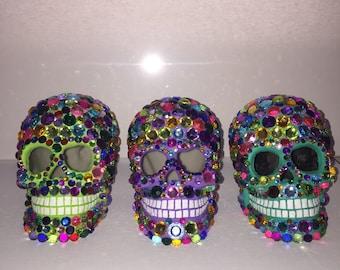 Jeweled skulls
