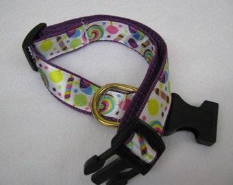 Wonka Style Dog Collar - MULTIPLE SIZES AVAILABLE