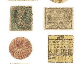 Nostalgiques - Attic Collection - Postage Stamps