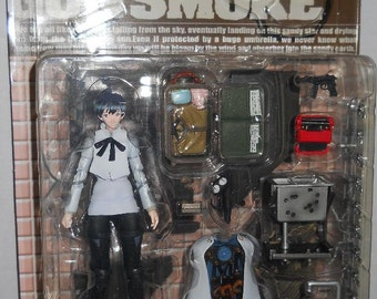 TRIGUN The Planet Gunsmoke - MERYL STRYFE Action Figure by Kaiyodo - Old Store Stock