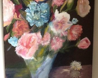 Romantic Blue Bouquet
