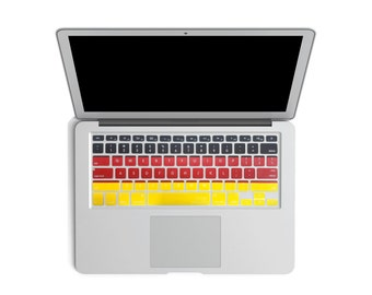 Germany Macbook Keyboard Cover
