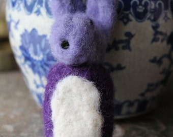 Buttercup the Bunny Needle Felted Friend