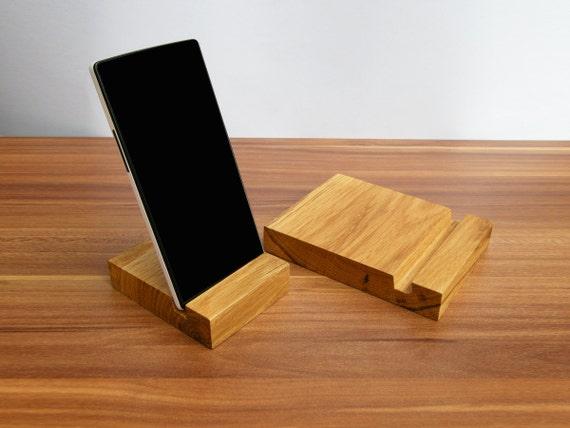 Ipad bois iphone stand d finie support ipad bois iphone en - Fabriquer un support pour tablette ...