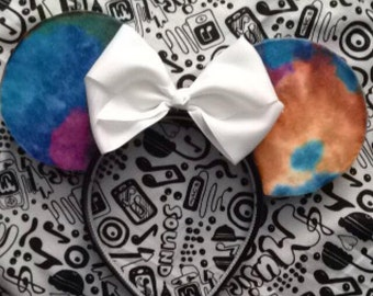 Tie Dye Minnie Mouse Ears