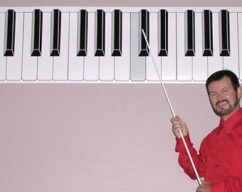 Dry Erase Piano Keyboard