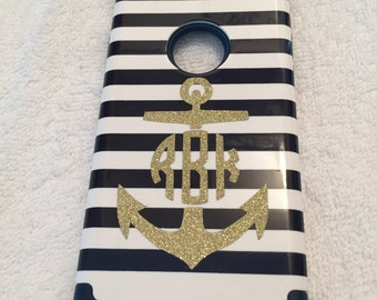 Cell Phone Monogram Decal