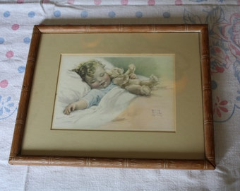 Happy Dreams by Bessie Pease Gutmann