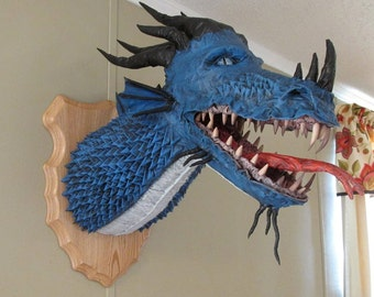 Paper/Cloth Mache Dragon Trophy