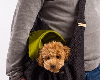 Dog sling carrier LUIGI