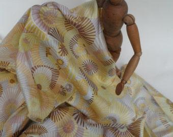 Italian printed silk