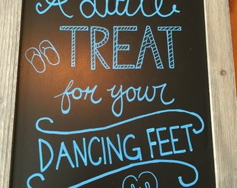 Flipflop Dancing Sign
