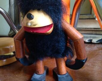 Hans Bolling caveman / Gorilla mid century teak danish figuring
