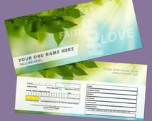 Offering Envelope - Donation Envelope - Tithe Envelope