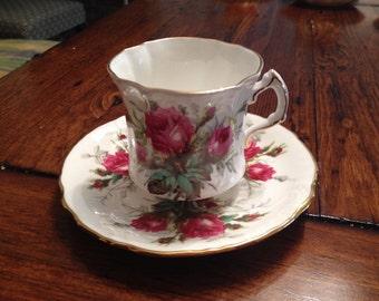 Hammersley Bone China Tea Cup and Saucer