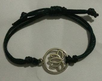 Lotus Bracelet - Emerald
