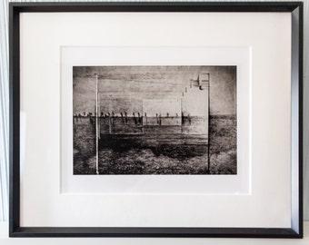 "Framed Fine Art Photograph  ""The Park"""