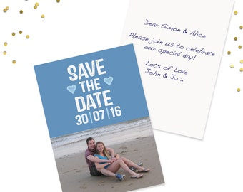 Photo Wedding Save The Date