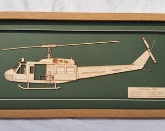 Huey Helicopter USA Army Vietnam
