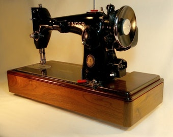 Custom Singer Sewing Machine Wood Base for Singer 15-91, 201, 66 and more!