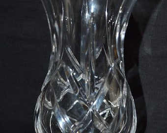 Very heavy lead crystal vase