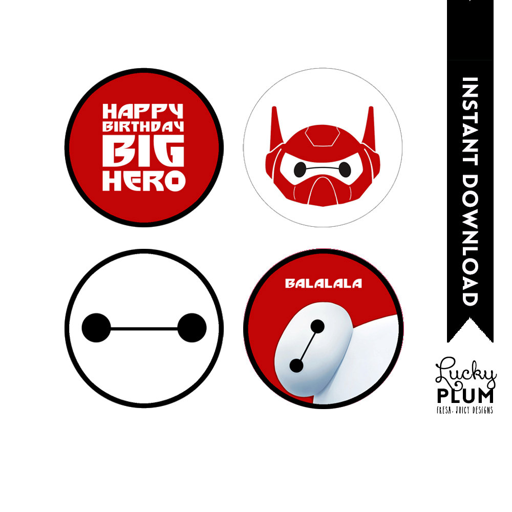 Baymax Birthday Cake Toppers Image Inspiration of Cake and