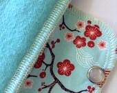 Organic Extra Absorbent Moonpads Washable Cotton Reusable Cloth Menstrual Pads- Sakura