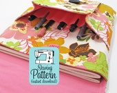Idea Pouch PDF Sewing Pattern | iPad Case Journal Pouch Notebook Cover Sewing Pattern PDF